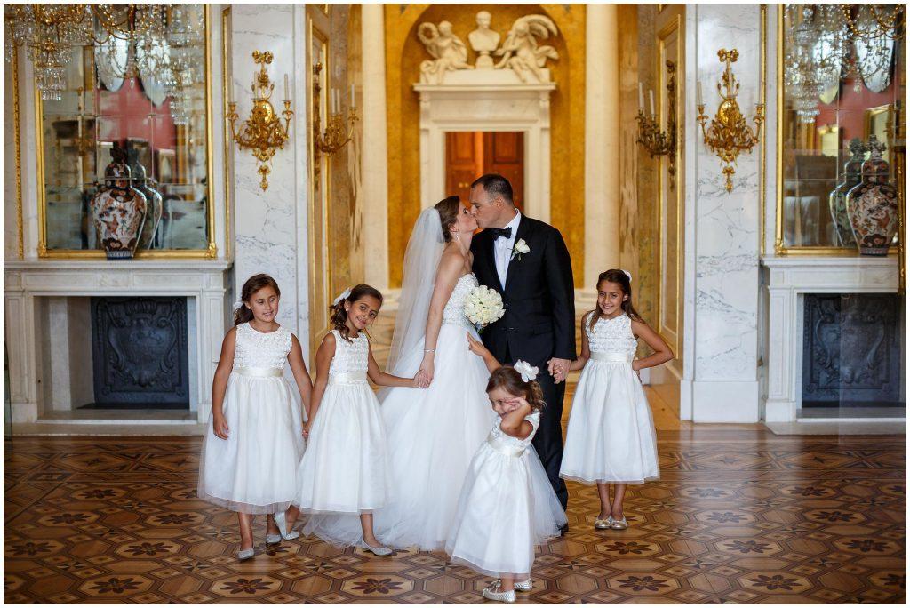Polsko-Amerykański ślub w Łazienkach Królewskich z weselem w Bristol Hotel Warszawa