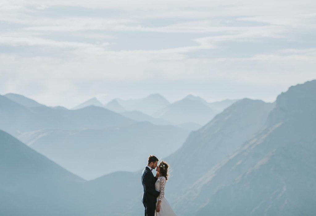 Sesja ślubna w górach na Kasprowym Wierchu