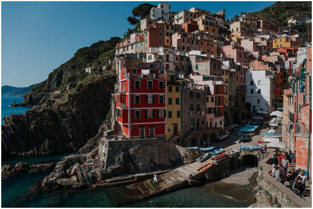 Zagraniczny plener ślubny w Cinque Terre we Włoszech