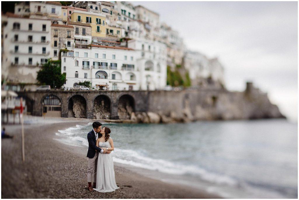 Plener ślubny na wybrzeżu Amalfitańskim, sesja w Amalfi