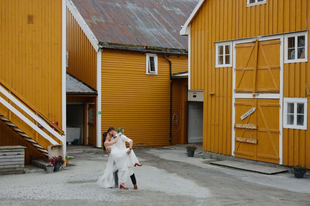 Sesja ślubna na Lofotach