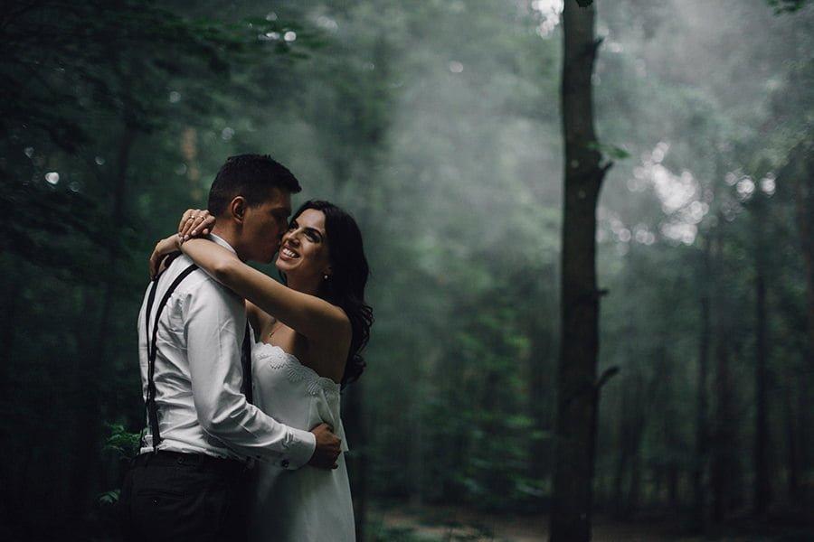 Sesja ślubna w Kampinosie