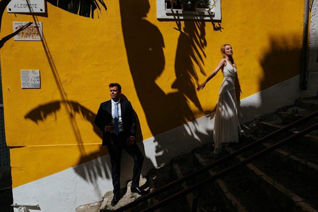 Sesja ślubna w Lizbonie