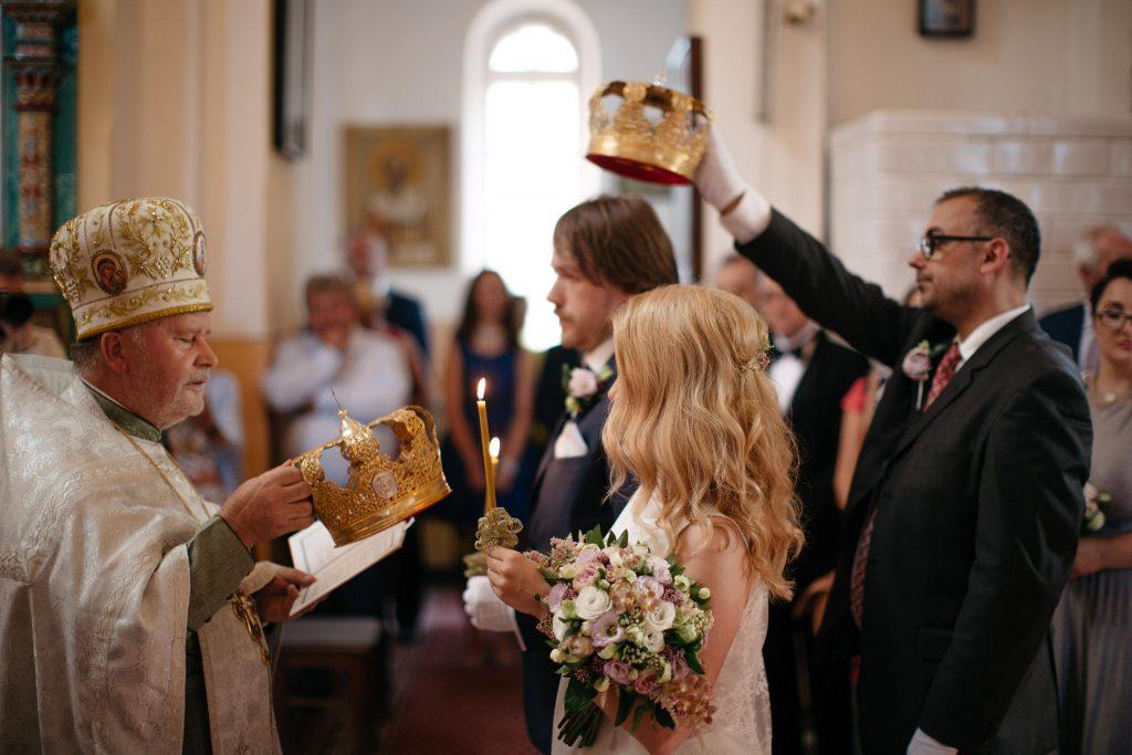 Ślub w obrządku Prawosławnym w Białowieży