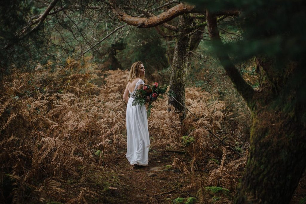 Panna Młoda sesja ślubna na Maderze