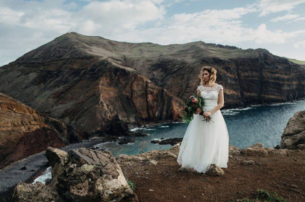 Zagraniczna sesja ślubna na Maderze