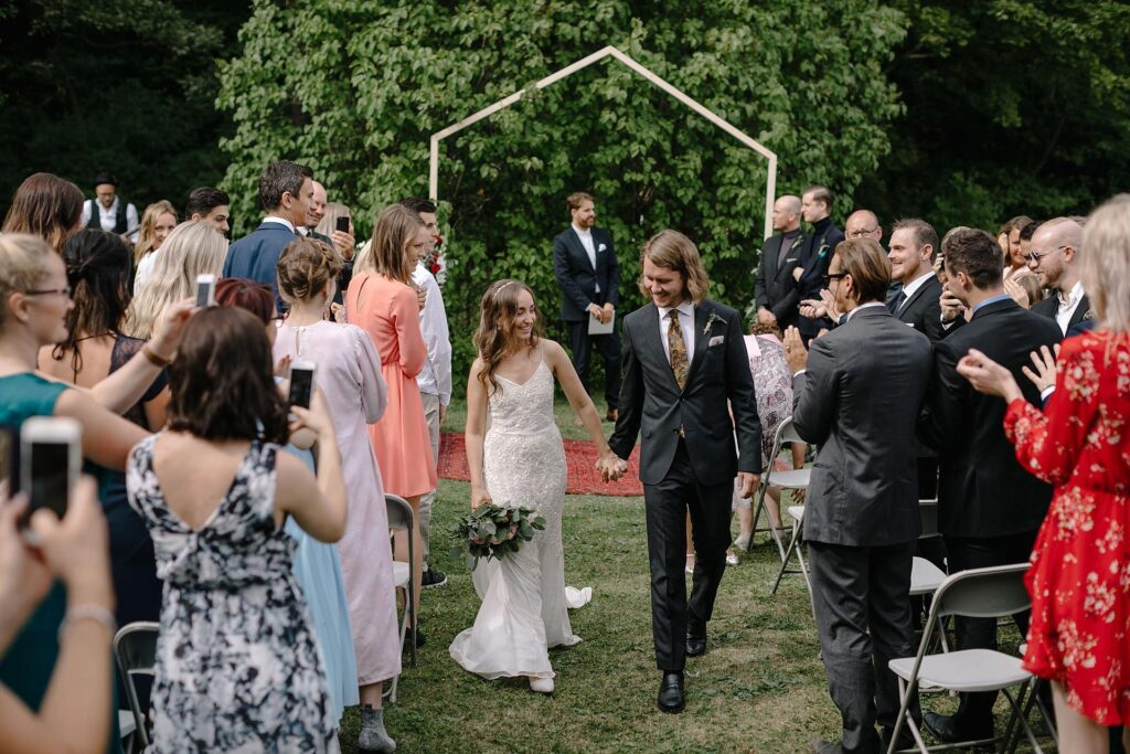 Polish-Norwegian DIY wedding in a Scandinavian style