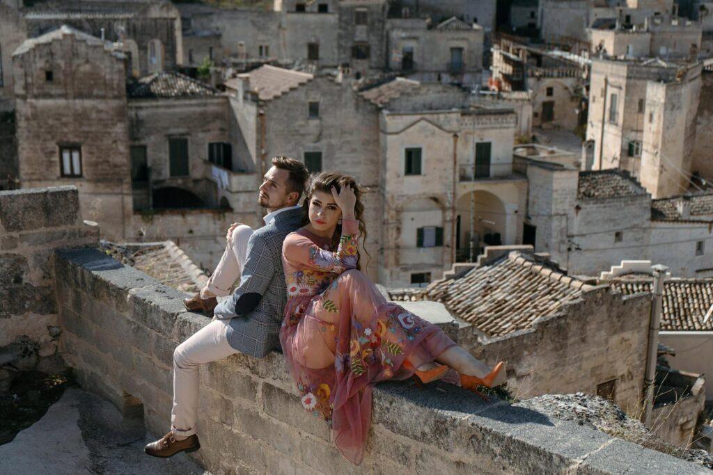 Sesja ślubna we Włoszech - Matera
