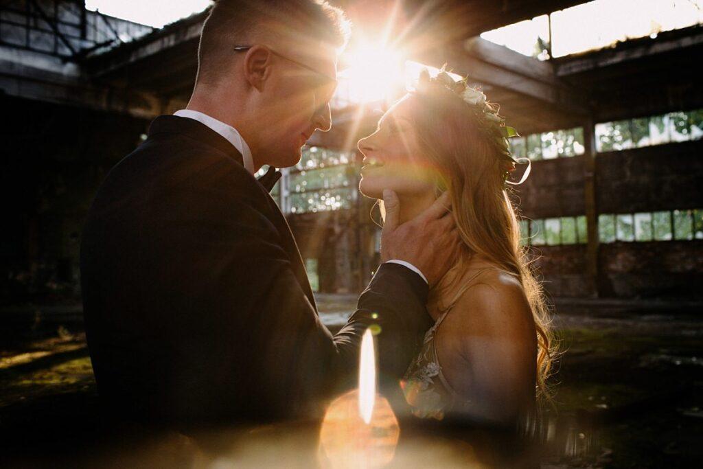 Sesja ślubna w nietypowym miejscu