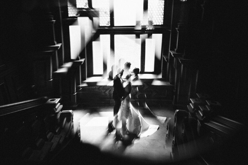Sesja ślubna kreatywnie
