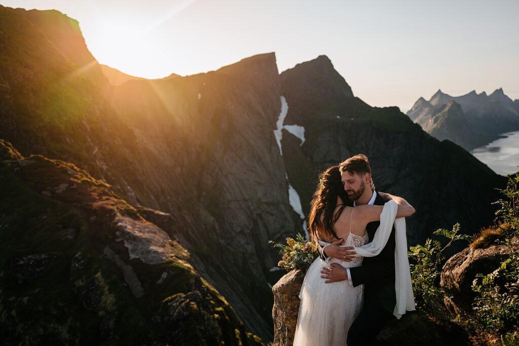 Sesja śluba w górach