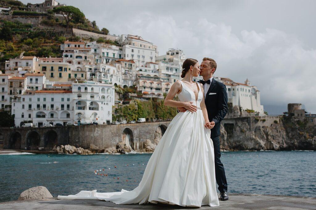 Elegancka sesja ślubna