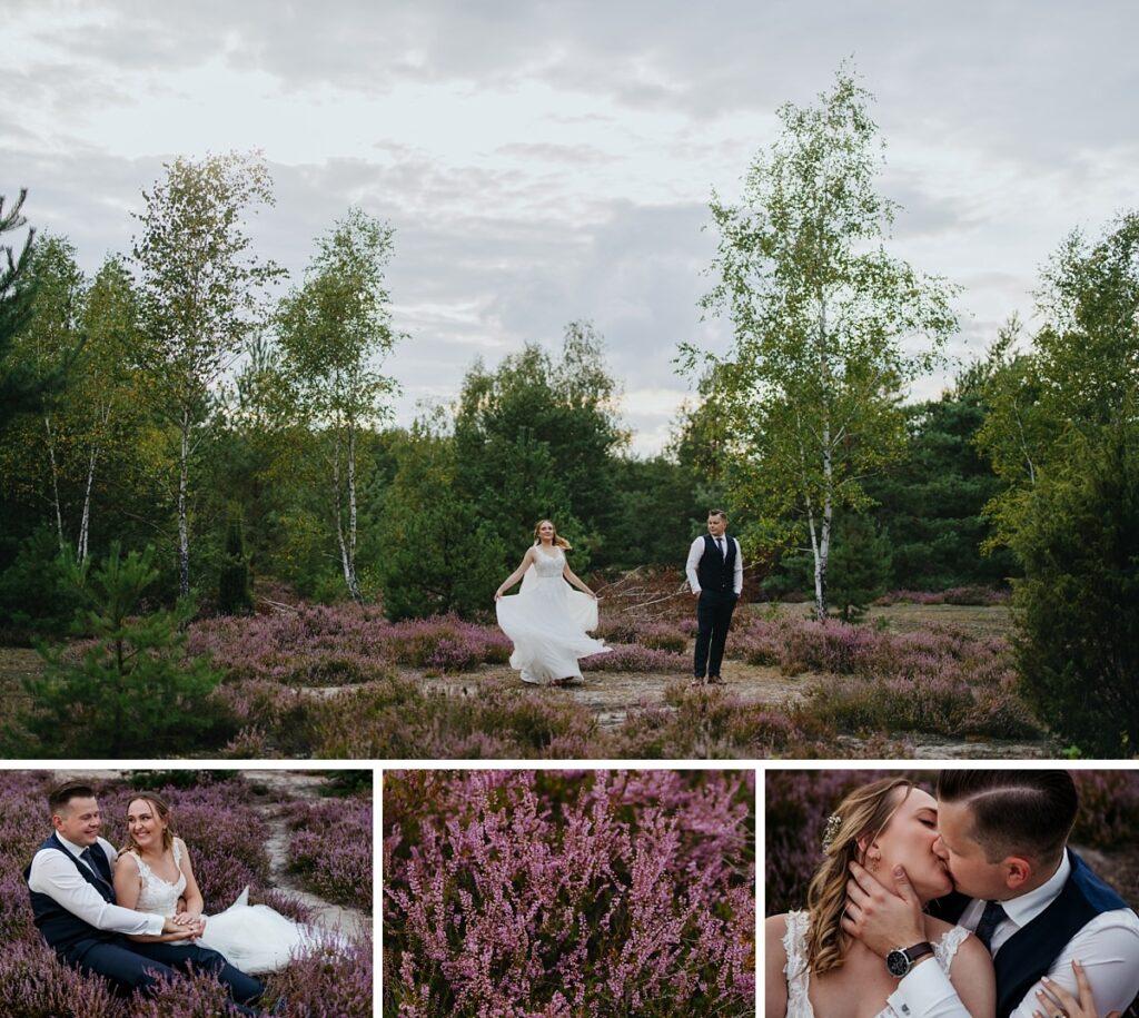 Sesja ślubna we Wrzosach