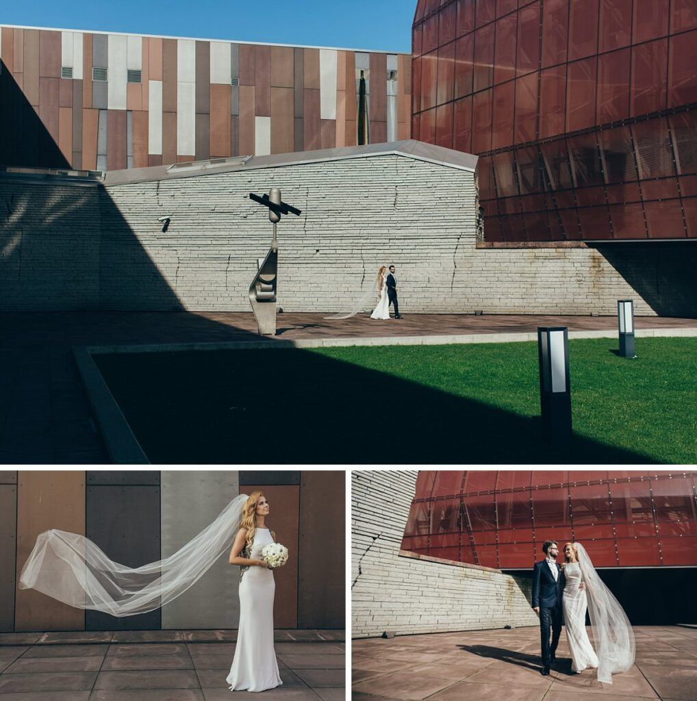 Centrum Nauki Kopernik sesja ślubna