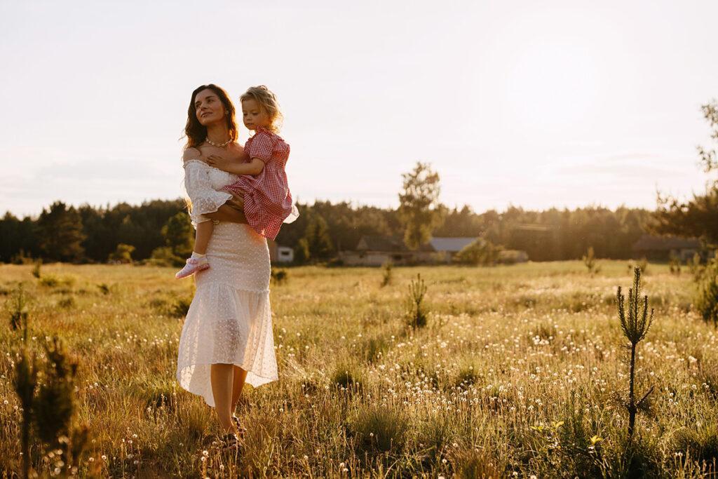 sesja lifestylowa mamy z córką